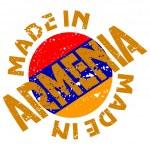 Vector label Made in Armenia — Stock Vector #10503268