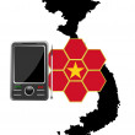 Mobile Communications Vietnam — Stock Vector