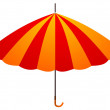 Stock Vector: Umbrella. vector