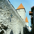 Stock Photo: Old Tallinn fortress wall