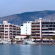 Volos, panoranic view — Stock Photo