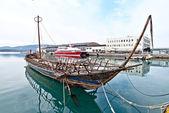 Argo, tarih öncesi gemi kopyası — Stok fotoğraf