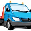 Tow truck - Stock Vector