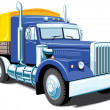 Heavy truck — Stock Vector