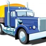 Heavy truck — Stock Vector