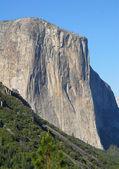 El capitan montagna parco nazionale di yosemite — Foto Stock