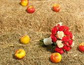 Düğün buketi elmalı köyü iç — Foto de Stock