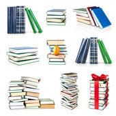 Böcker samling — Stockfoto