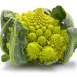 Stock Photo: Romanesco broccoli cabbage isolated