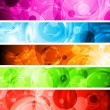 Vibrant banners — Stock Vector #8982986