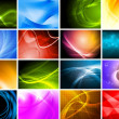 Beautiful bright backdrops — Stock Photo #9204572