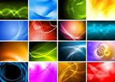 Beautiful bright backdrops — Stock Photo