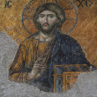 Mosaic of Jesus Christ in church of Hagia Sofia — Stock Photo