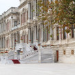 Part of exterior of Ciragan palace hotel Bosphorus Istanbul — Stock Photo #9229832