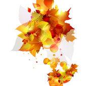 Autumn background. — Stock Vector