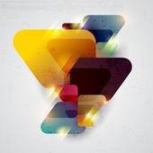 Abstracte gekleurde achtergrond. — Stockvector
