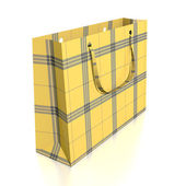 Yellow Shopping Bag — Stock Photo