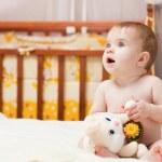 Little baby indoor — Stock Photo #10182696