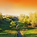 paysage de beau matin — Photo