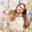 Beautiful girl outdoot — Stock Photo