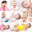 Little smile baby — Stock Photo