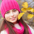 Beautiful girl outdoor — Stock Photo #8368313