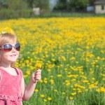 Happy girl outdoor — Stock Photo #8369680