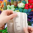 Stock Photo: Purchases in supermarket