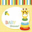 Baby arrival card — Stock Vector #10240645