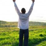 Praying man — Stock Photo #10113865