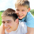 Happy brothers — Stock Photo #10551846