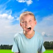 Screaming boy — Stock Photo #8968277