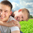 Happy brothers — Stock Photo #8968295