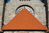 坦佩雷大教堂门面 — 图库照片