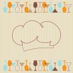 Restaurant and bar menu list — Stock Vector