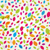 Vintage floral seamless pattern — Stock Vector