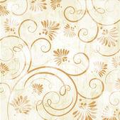 Vintage floral patrón sin costuras — Vector de stock