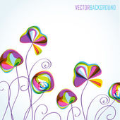 Abstract multicolored summer background — Stock Vector