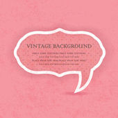Vintage frame with place for text — Stock Vector