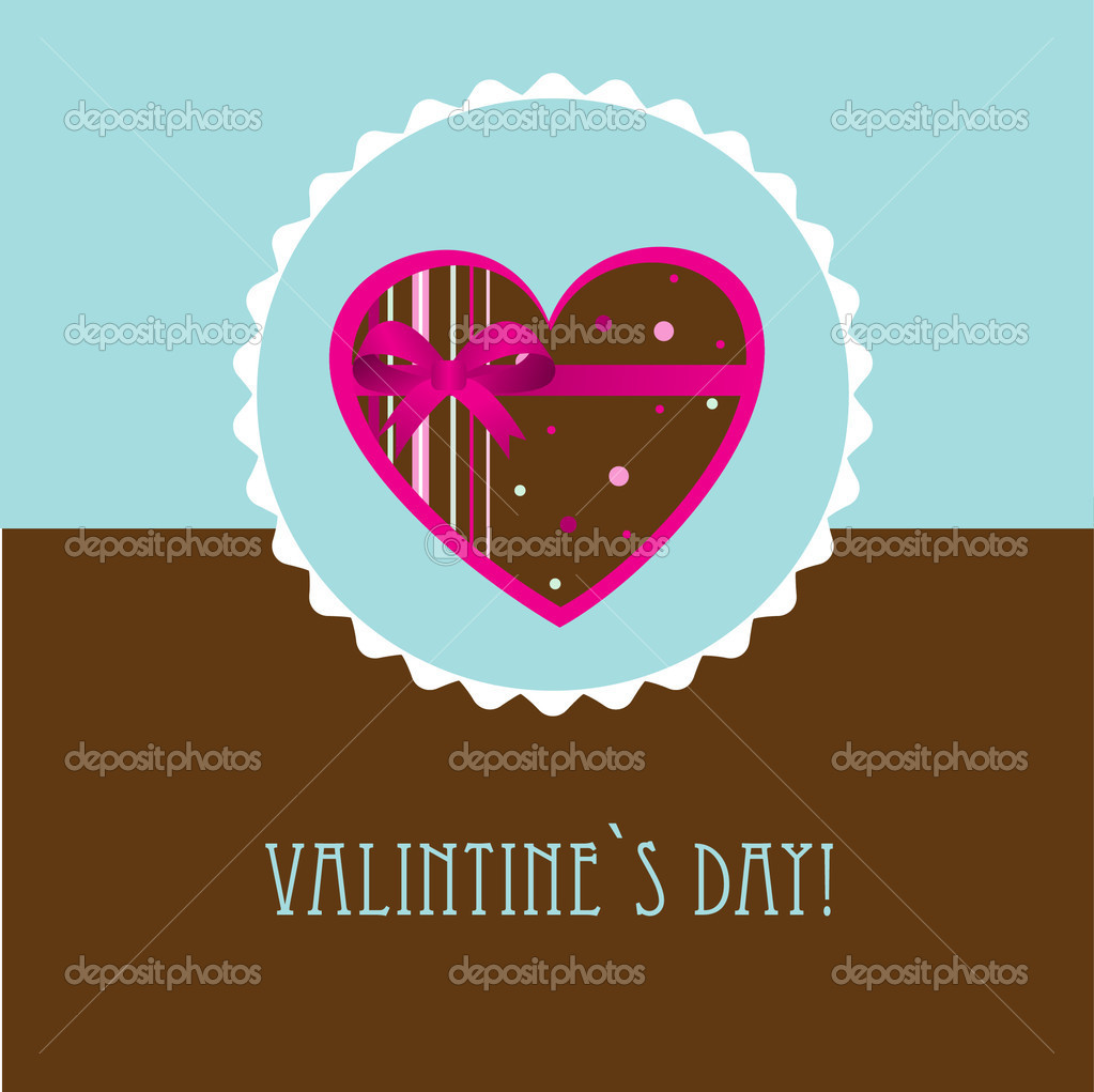 Valentines cards with  hearts and place for your text. — Stock Vector #8685654