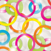 Abstract background with lights and circles — Stock Vector