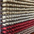 Many bobbins of yarn — Foto de Stock