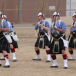 Seaside Highland Games — Stock Photo