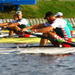 Competition in rowing - Stock Photo
