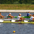 Stock Photo: Rower in training
