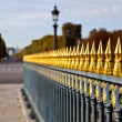 Concorde Picket Fence — Stock Photo
