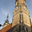 Collegiate Church in Stuttgart — Stock Photo