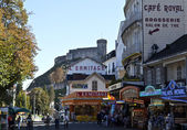 Street of Lourdes — Stock Photo