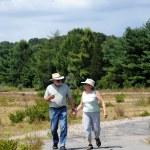 Couple walking together. — Stock Photo #10130694