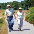 Couple walking together. — Stock Photo #10130829